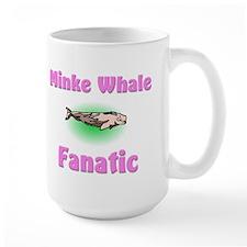 Minke Whale Fanatic Large Mug