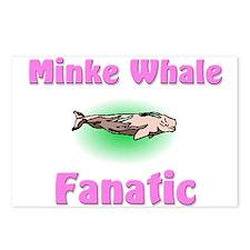 Minke Whale Fanatic Postcards (Package of 8)