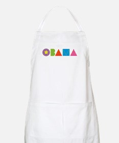 Quilted Obama BBQ Apron