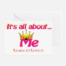 RK It's All About Me Greeting Card