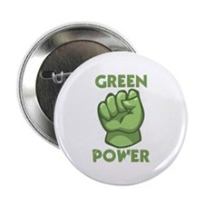 "Green Power 2.25"" Button"