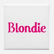 'Blondie' Tile Coaster
