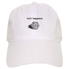Crit Happens Baseball Cap