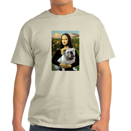 Mona & English Bulldog Light T-Shirt