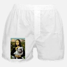 Mona & English Bulldog Boxer Shorts