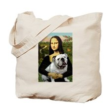 Mona & English Bulldog Tote Bag