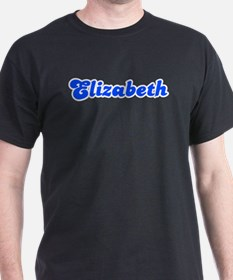 Retro Elizabeth (Blue) T-Shirt