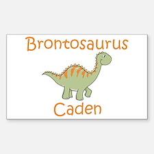 Brontosaurus Caden Rectangle Decal