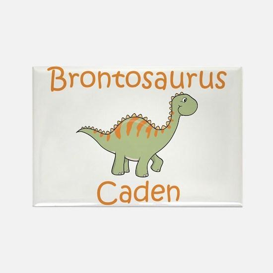 Brontosaurus Caden Rectangle Magnet