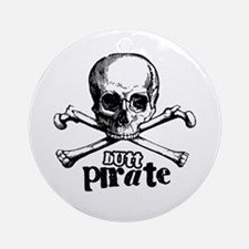 Butt pirate Ornament (Round)