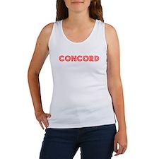 Retro Concord (Red) Women's Tank Top