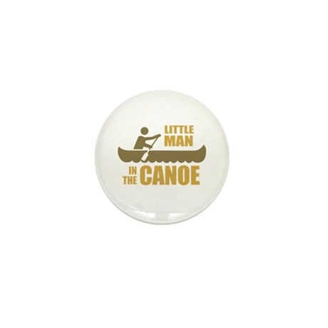 Little man in the canoe Mini Button (100 pack)