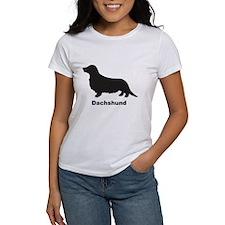 DACHSHUND LONGHAIR Womens T-Shirt