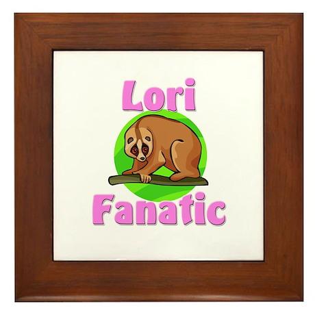 Lori Fanatic Framed Tile