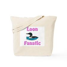 Loon Fanatic Tote Bag