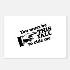 You must be this tall to ride me Postcards (Packag