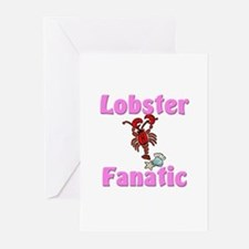 Lobster Fanatic Greeting Cards (Pk of 10)