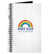 Not gay but supportive Journal