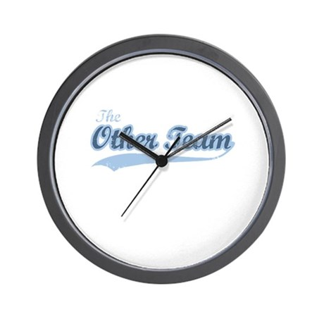 The Other Team Wall Clock