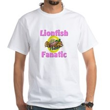 Lionfish Fanatic White T-Shirt
