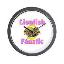 Lionfish Fanatic Wall Clock