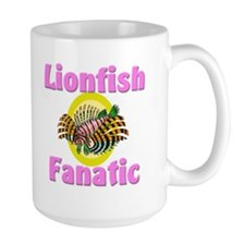 Lionfish Fanatic Large Mug