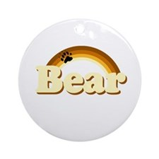 Bear Pride Ornament (Round)