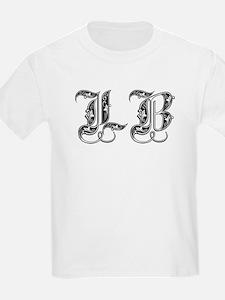Long Beach LB Fancy Font T-Shirt
