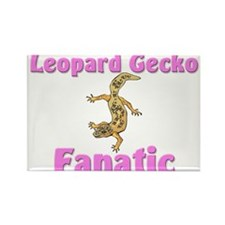 Leopard Gecko Fanatic Rectangle Magnet