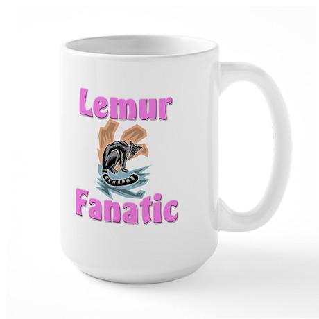 Lemur Fanatic Large Mug