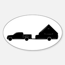 A-Frame + Truck Oval Decal