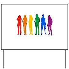 Lesbian Pride Yard Sign