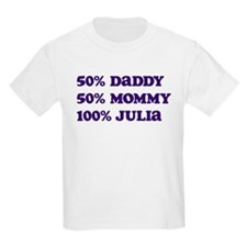 100 Percent Julia T-Shirt