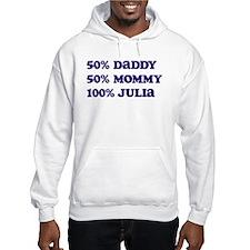 100 Percent Julia Hoodie
