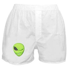 Green Alien Boxer Shorts