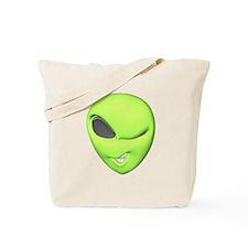 Green Alien Tote Bag