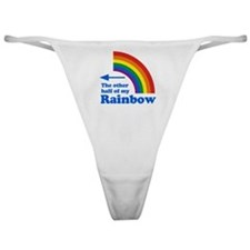 The other half of my rainbow (left) Classic Thong