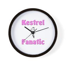 Kestrel Fanatic Wall Clock