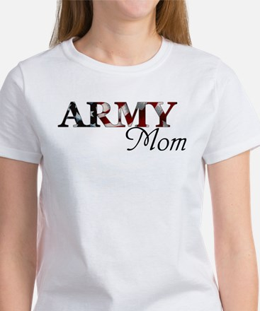 Army Mom (Flag) Women's T-Shirt