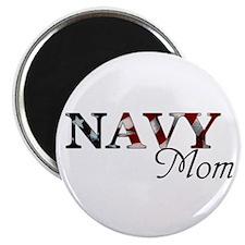 """Navy Mom 2.25"""" Magnet (10 pack)"""