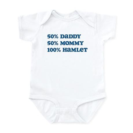 100 Percent Hamlet Infant Bodysuit