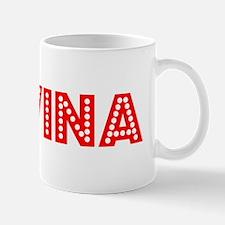 Retro Covina (Red) Mug