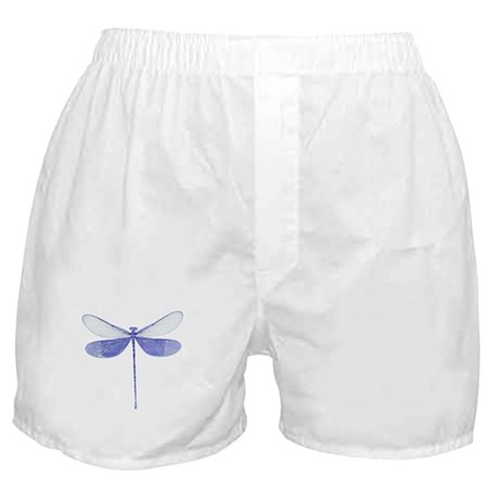 Blue Dragonfly Boxer Shorts