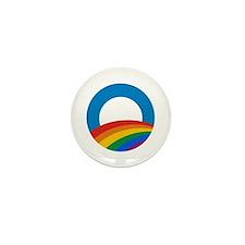 Obama Pride Mini Button (100 pack)