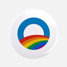 """Obama Pride 3.5"""" Button (100 pack)"""