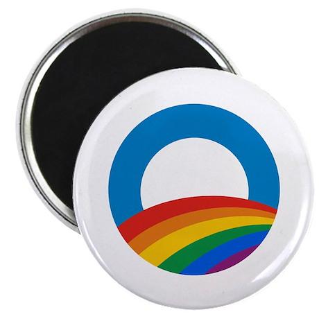 """Obama Pride 2.25"""" Magnet (10 pack)"""