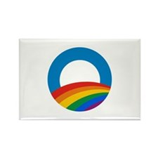 Obama Pride Rectangle Magnet