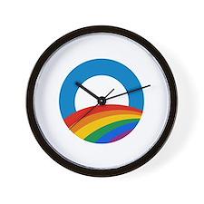 Obama Pride Wall Clock