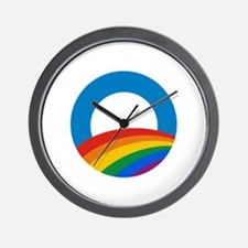Obama Pride Wall Clock