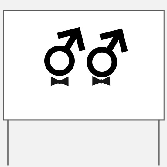 Gay Marriage / Same-sex marriage Yard Sign